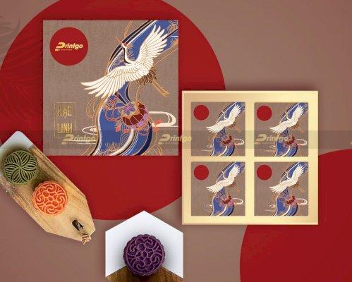 In hộp bánh Trung thu Hạc Linh 4 bánh PG-TT21-15 giá rẻ trên toàn quốc
