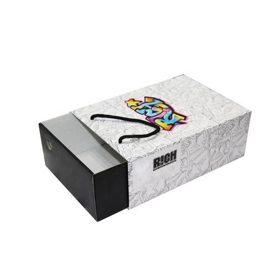 In hộp đựng giày dáng bao diêm PG-HĐG-07